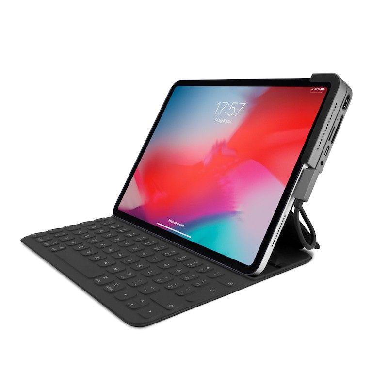 Hub Multimédia com várias ligações para iPad Pro - Cinzento Sideral