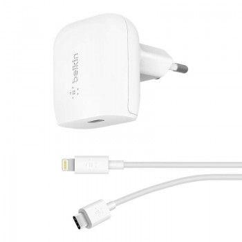 Carregador de parede Belkin 18W & cabo USB-C/Lightning