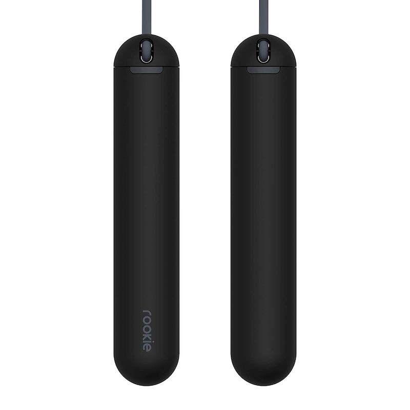 Corda de saltar Smart Rope ROOKIE da Tangram Factory - Preto