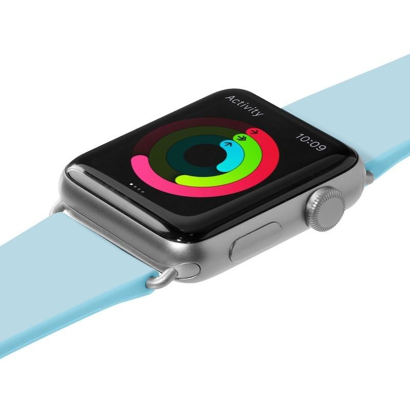Bracelete para Apple Watch Laut Pastels (44/42 mm) - Azul Bébé