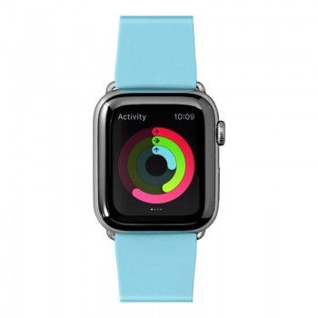 Bracelete para Apple Watch Laut Pastels 42/44 mm - Azul Bébé