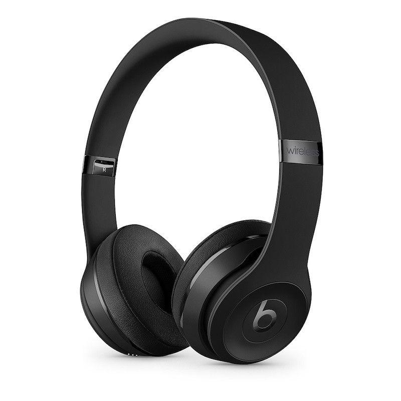 Auscultadores Beats Solo3 Wireless Icon Collection - Preto mate