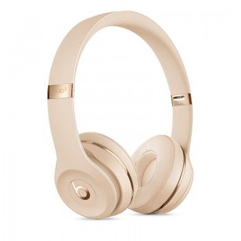 Auscultadores Beats Solo3 Wireless Icon Collection - Dourado Cetim