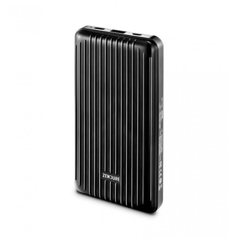 Powerbank 20100 mAh com porta USB-C - Preto