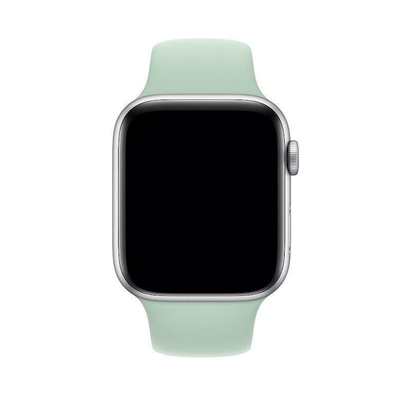 Bracelete desportiva para Apple Watch (44/42 mm) S/M & M/L - Azul berilo