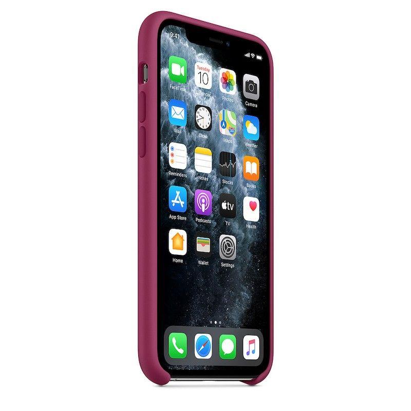 Capa para iPhone 11 Pro em silicone - Romã