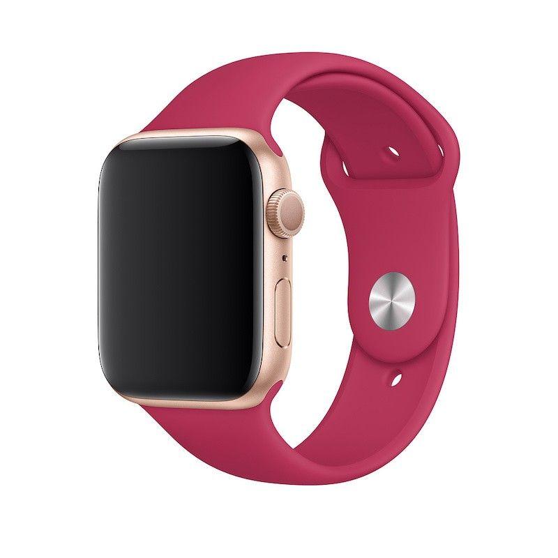 Bracelete desportiva para Apple Watch (44/42 mm) S/M & M/L - Romã