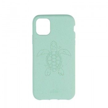 Capa ECO-FRIENDLY PELA para iPhone 11 - Ocean Turtle