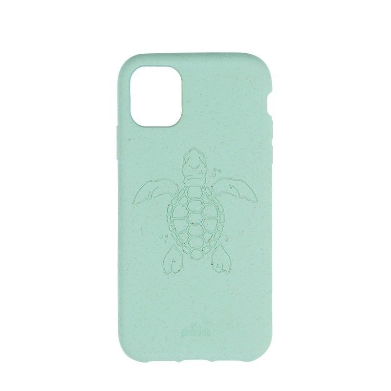 Capa ECO-FRIENDLY PELA para iPhone 11 Pro - Ocean Turtle