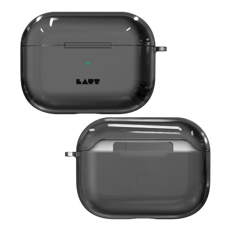 Capa para AirPods Pro Laut Crystal - Transparente escurecido