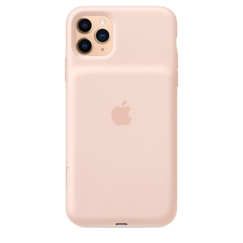 Capa com bateria Apple para iPhone 11 Pro Max - Rosa