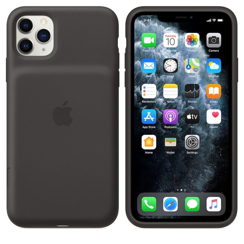 Capa com bateria Apple para iPhone 11 Pro Max - Preto