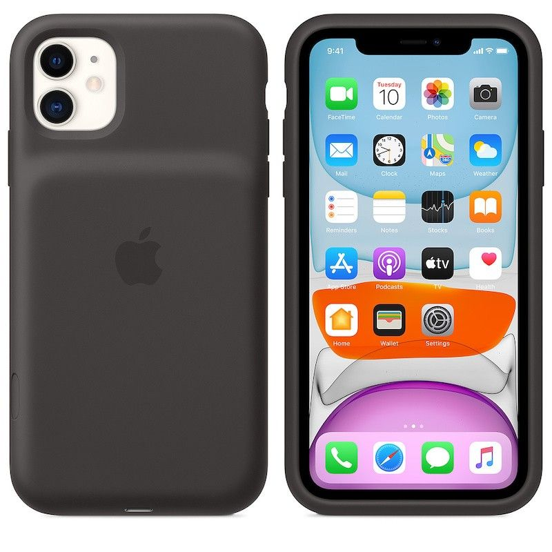 Capa com  bateria Apple para iPhone 11 - Preto