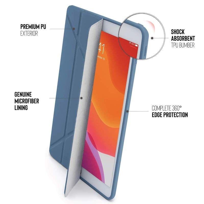 Capa para iPad 10,2 Pipetto (2019) - Azul