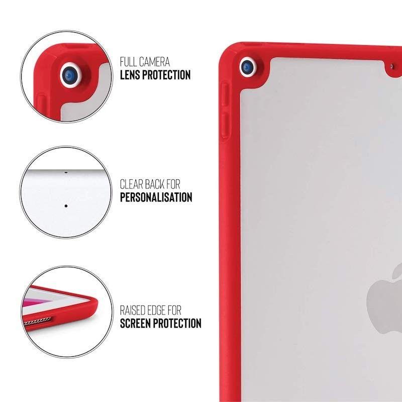 Capa para iPad 10,2 Pipetto (2019) - Vermelho