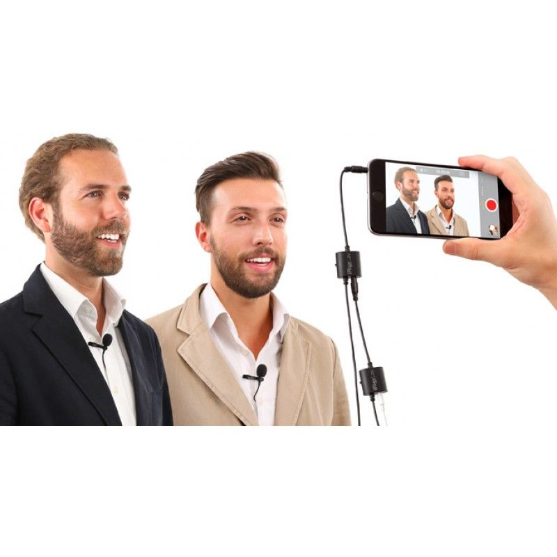 Microfone iRig Mic Lav IK Multimedia