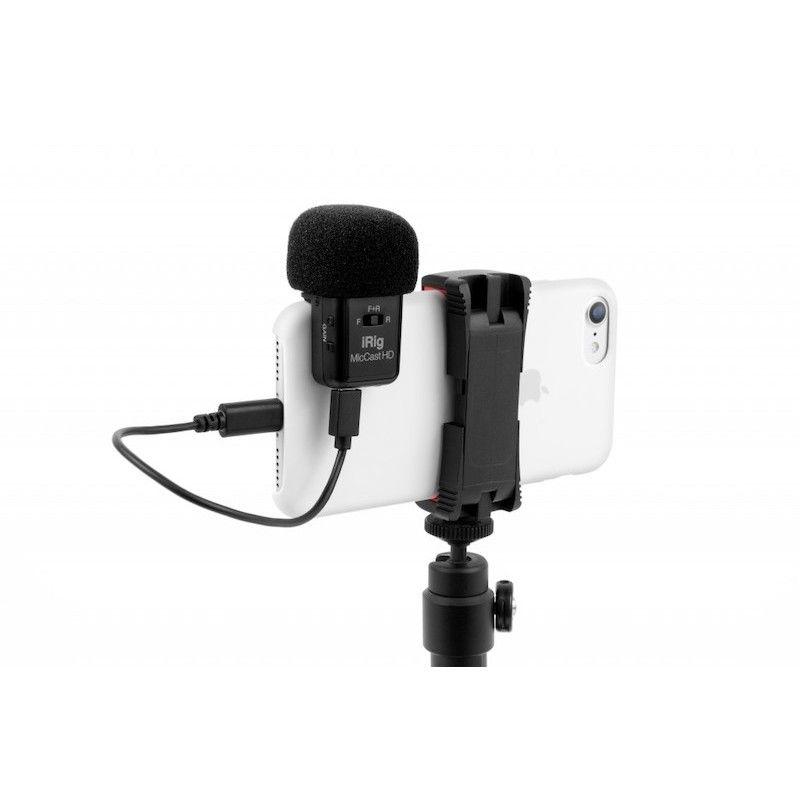 Microfone iRig Mic Cast HD da IK Multimedia