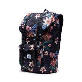 Mochila Herschel Little America (25 L) - Summer Floral Black