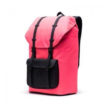 Mochila Herschel Little America (25 L) - Neon Pink/Black