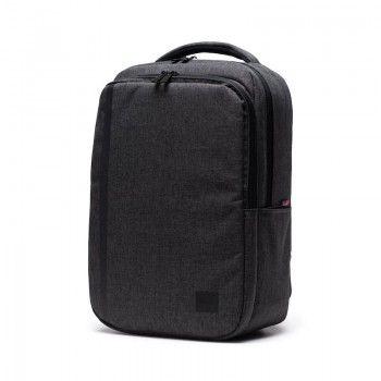 Mochila Herschel Travel Daypack - Black Crosshatch