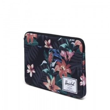 Bolsa Herschel Anchor Sleeve (novo MacBook)  - Summer Floral Black