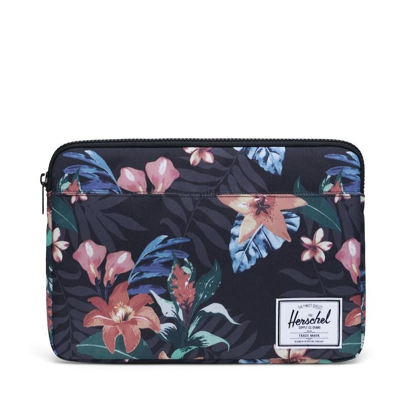Bolsa Herschel Anchor Sleeve (novo MacBook)  - Summer Floral Black