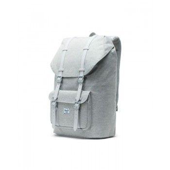 Mochila Herschel Little America (25 L) - Grey Crosshatch/Grey Rubber