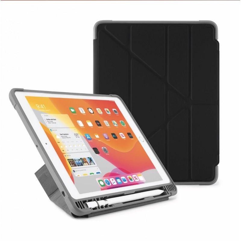 Capa para iPad 10,2 (2019) Origami Pencil Shield - Preto
