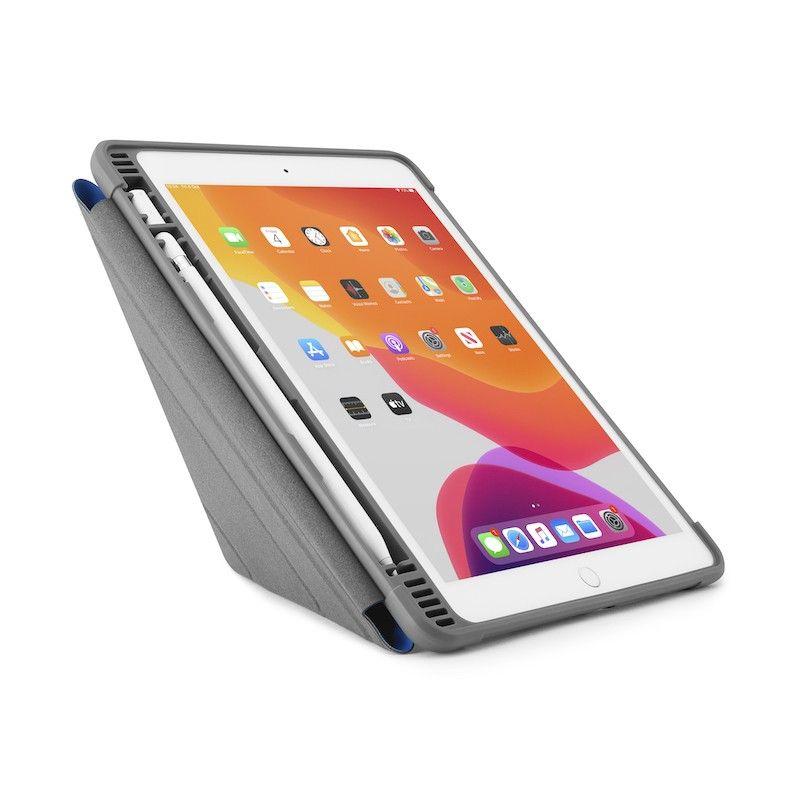 Capa para iPad 10,2 (2019) Origami Pencil Shield - Royal Blue