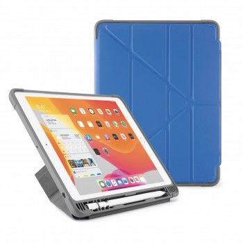 Capa para iPad 10,2 (2019) Origami Pencil Shield - Royal Blue