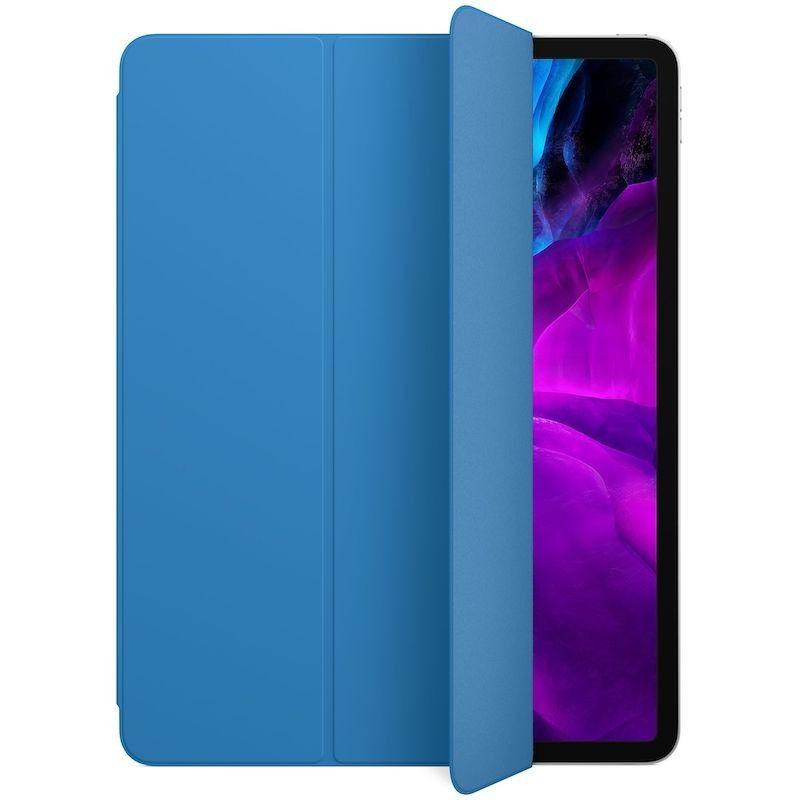 Capa para iPad Pro 12,9 Smart Folio (4 gen) - Azul-surf