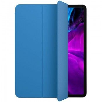 Capa para iPad Pro 12,9 Smart Folio (4 gen) - Azul-surf