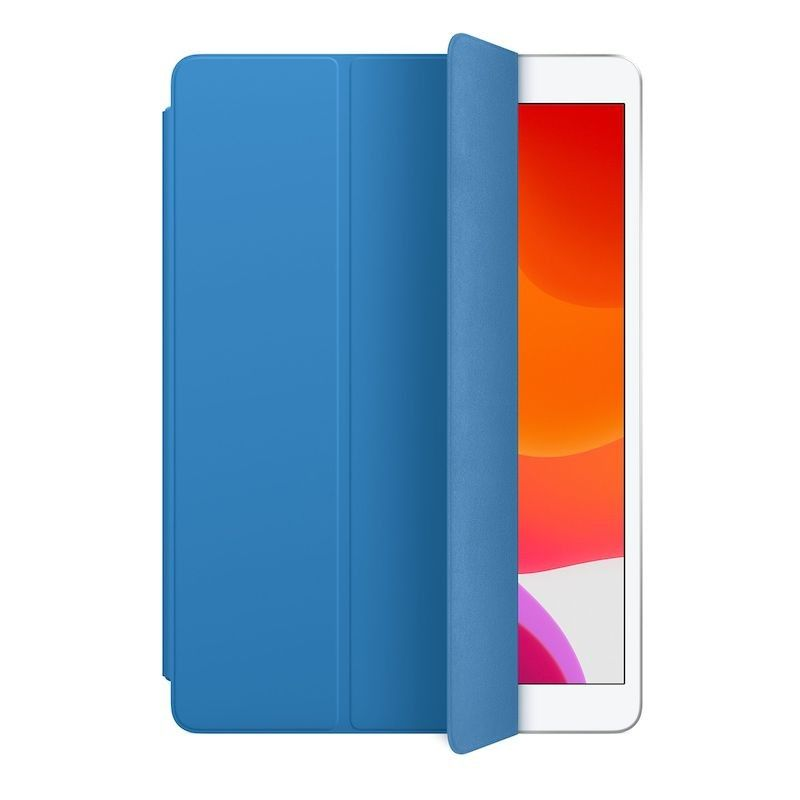 Capa Smart Cover para iPad Air (3 gen) e iPad (7 gen) - Azul-surf