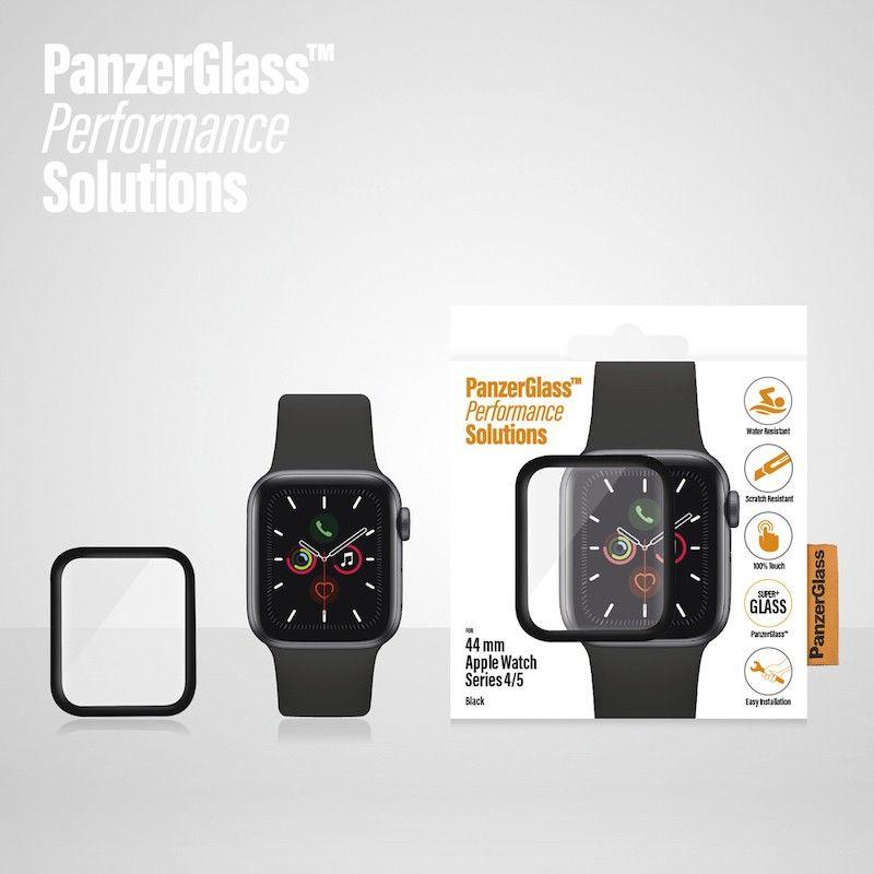 Película de proteção para Apple Watch PanzerGlass série 4/5, 44 mm - Preto