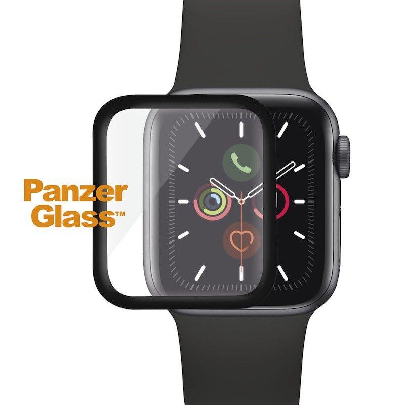 Película de proteção para Apple Watch PanzerGlass série 4/5, 40 mm - Preto
