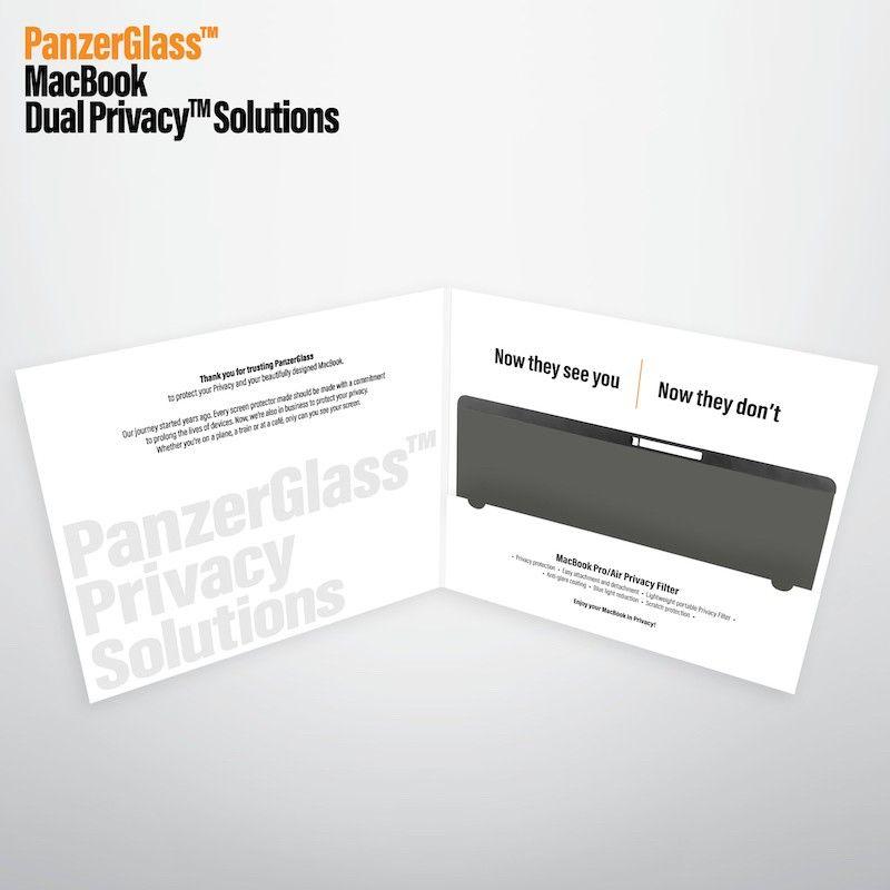 Película de proteção e privacidade magnética para MacBook Pro 16 PanzerGlass