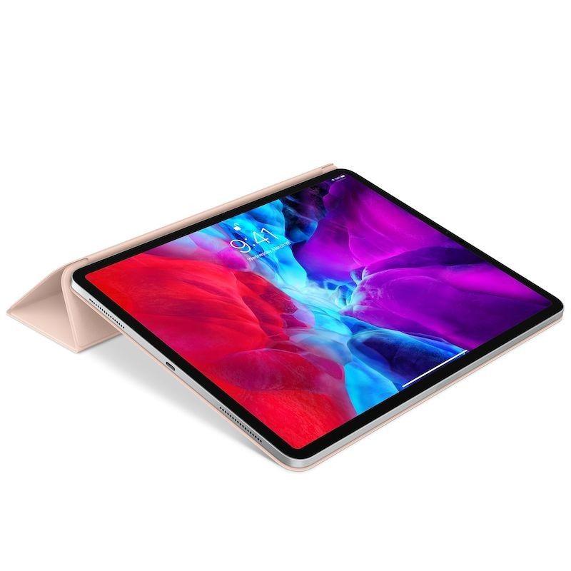 Capa para iPad Pro 12,9 Smart Folio (4 gen) - Rosa-areia
