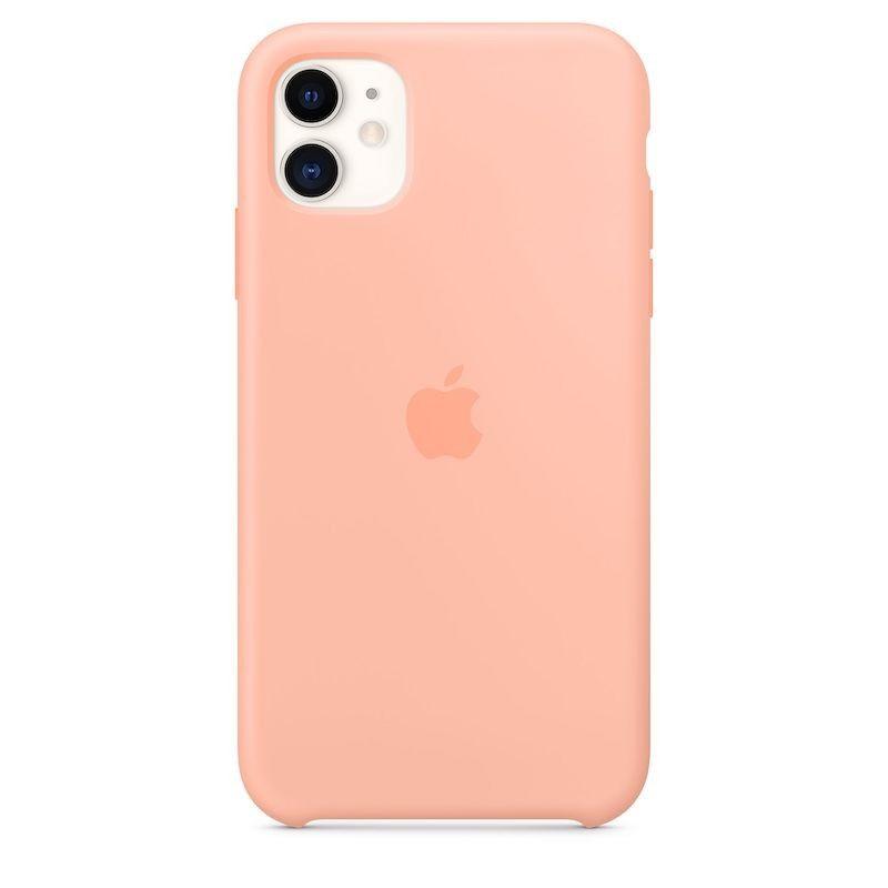Capa para iPhone 11 em silicone - Toranja