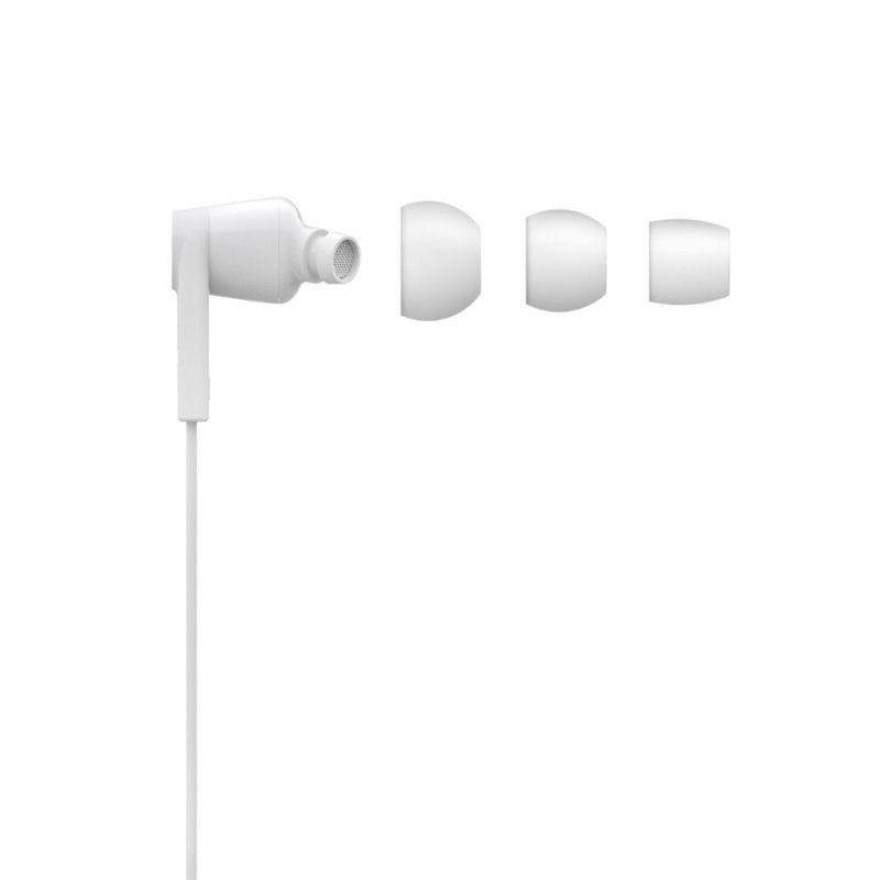 Auriculares Belkin ROCKSTAR com ligação USB-C em Branco