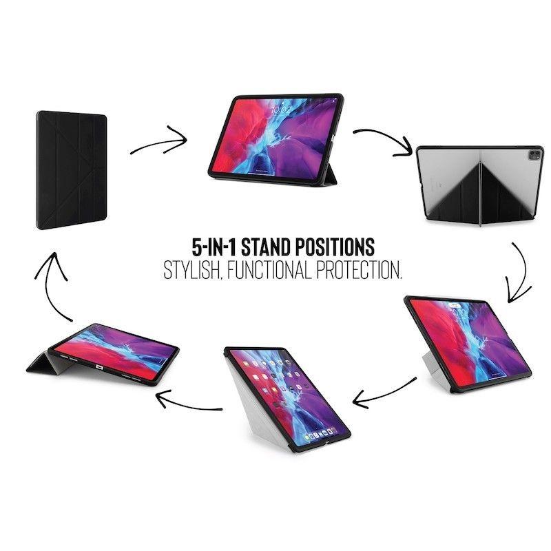 Capa iPad Pro 12.9 (2020) Pipetto Origami Case Black
