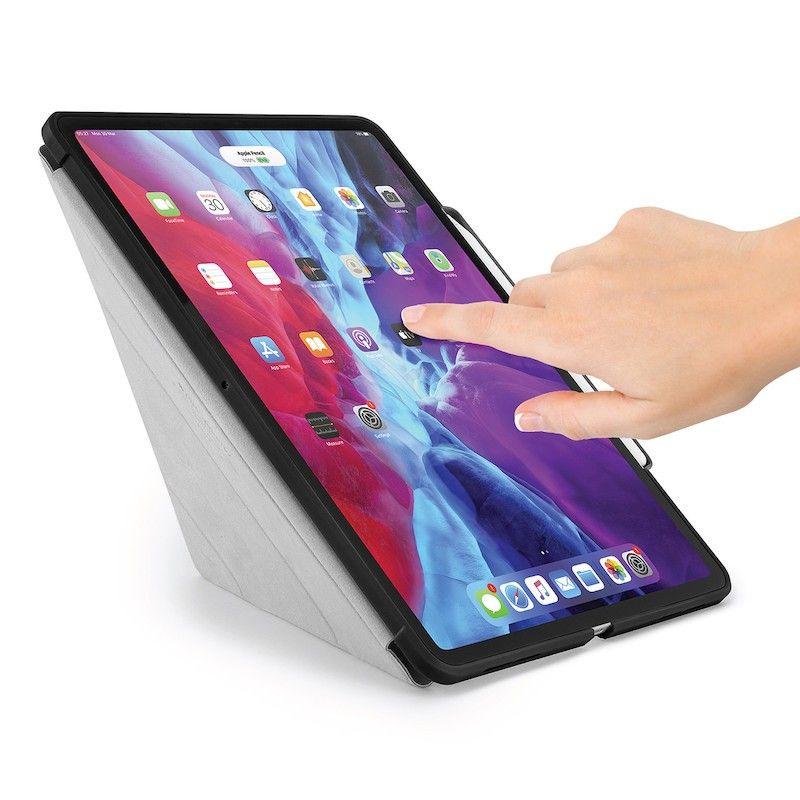 Capa iPad Pro 12.9 (2020) Pipetto Origami Pencil Case Black