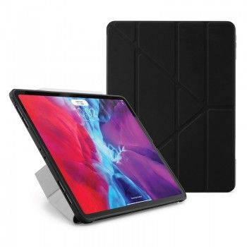 Capa iPad Pro 12.9 (2020) Pipetto Origami Case Black