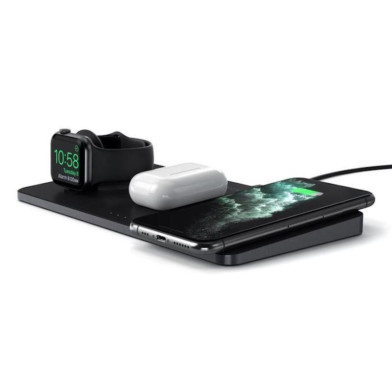 Base de Carregamento Satechi Trio Wireless Charging Pad