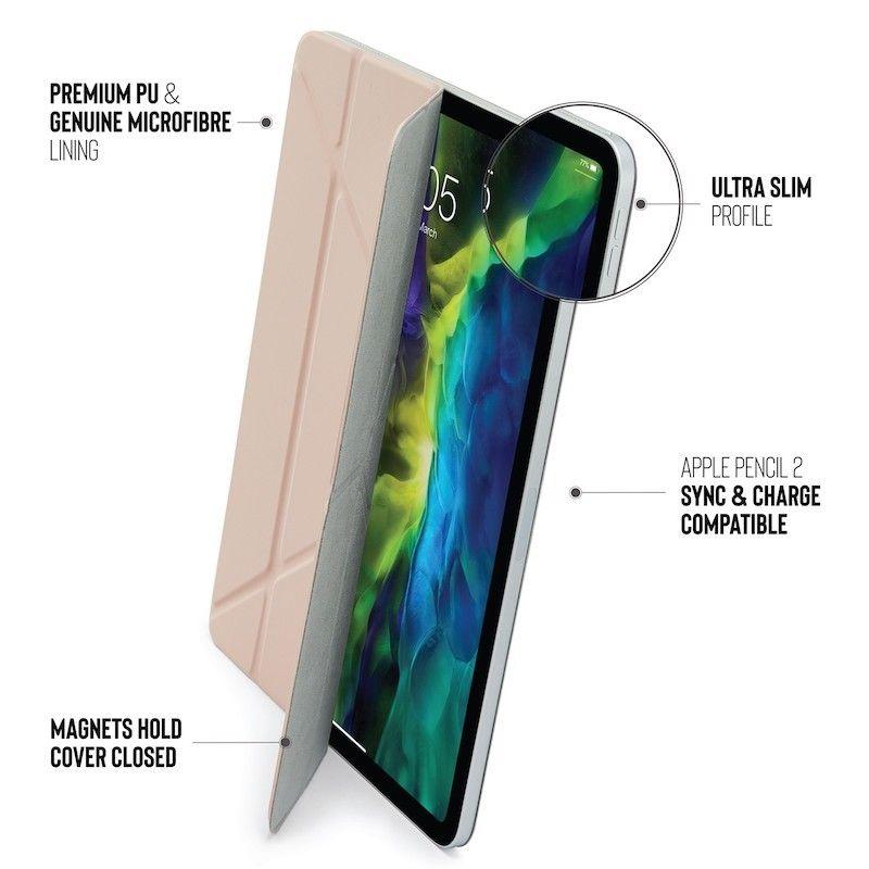 Capa iPad Pro 12.9 (2020) Pipetto Origami Folio Dusty Pink