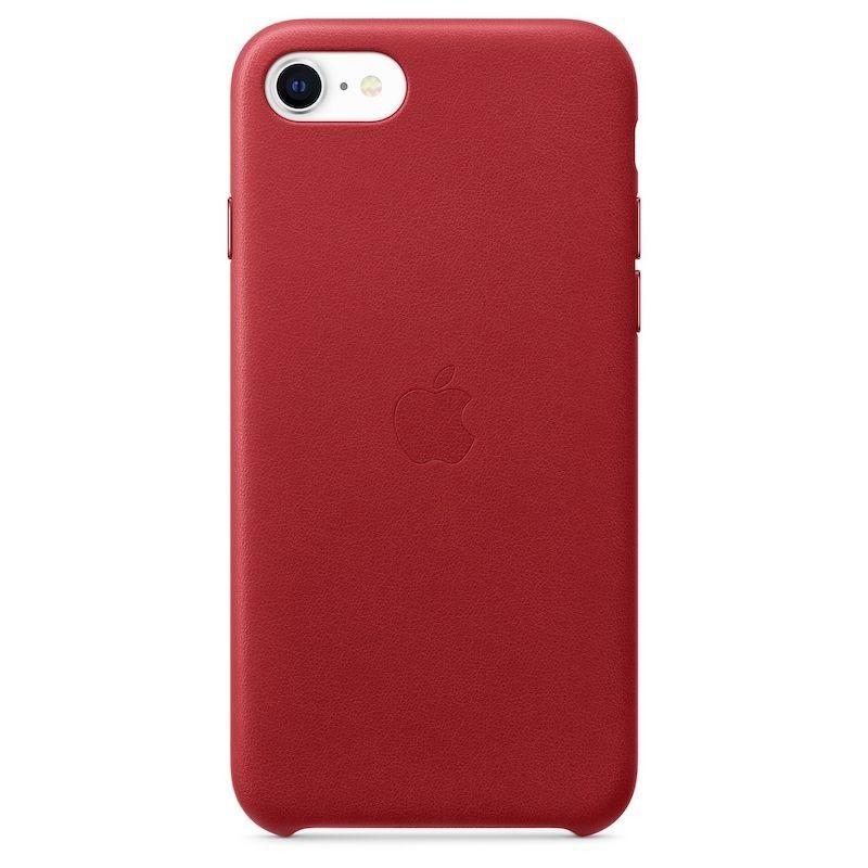 Capa em pele para iPhone SE -  Vermelho (PRODUCT RED)