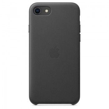 Capa em pele para iPhone SE - Preto