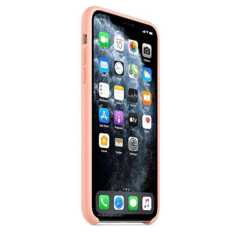 Capa para iPhone 11 Pro Max em silicone - Toranja