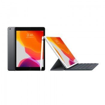 Conjunto composto por iPad 10,2 cinzento sideral + Apple Pencil + Smart Keyboard