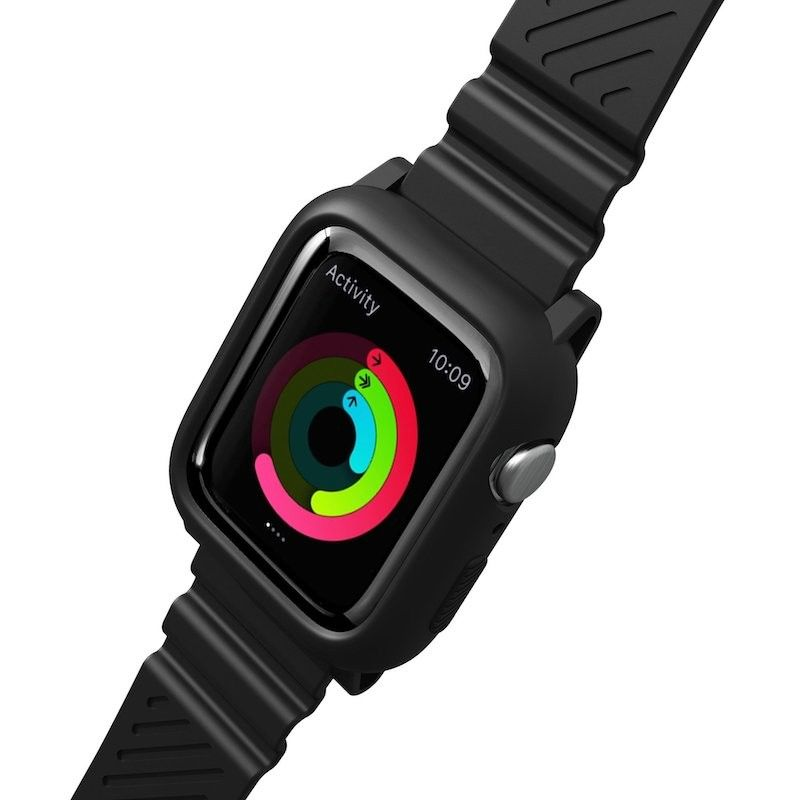 Bracelete para Apple Watch Laut AW Impkt 42/44 mm - Preto