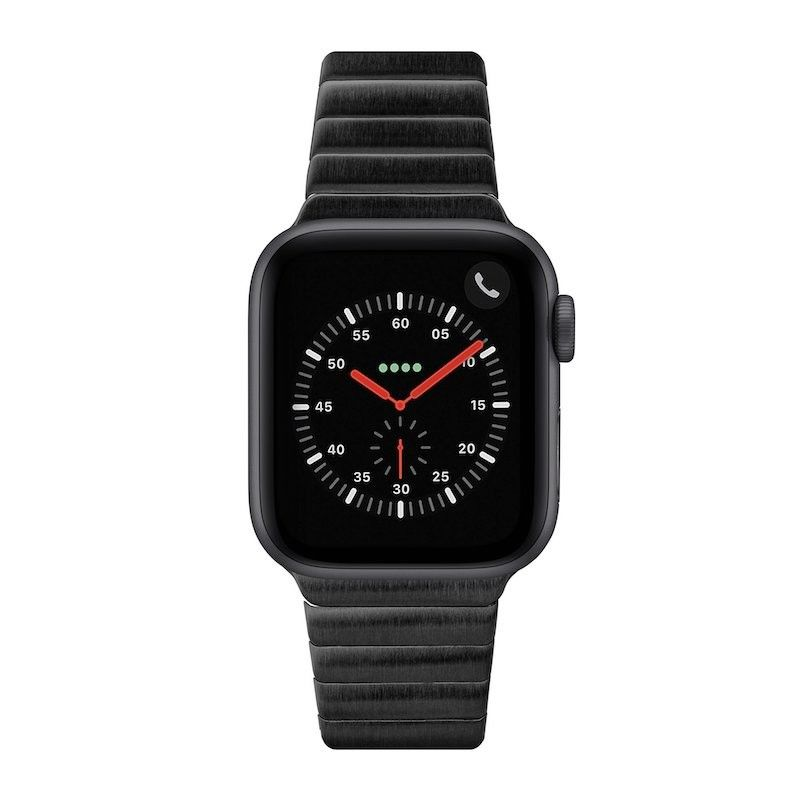 Bracelete para Apple Watch Laut Links 42/44 mm - Preto